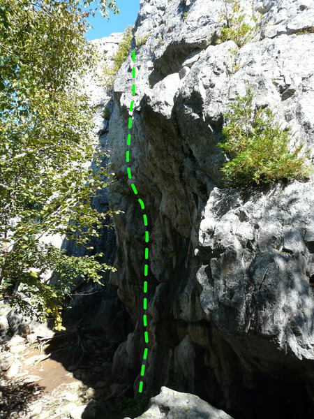 Rock Climbing Photo: Doux printemps 5.11c
