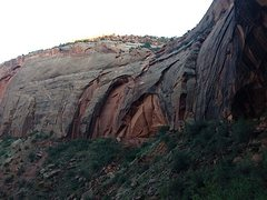Rock Climbing Photo: The Dove Creek Wall.