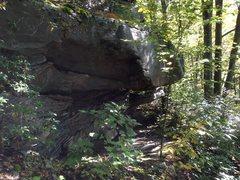 Rock Climbing Photo: Diamond Roof, can't miss it!