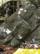 Rock Climbing Photo: The Buldge Wall