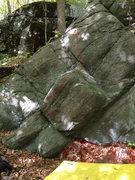 Rock Climbing Photo: Buldge Route