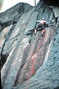 Rock Climbing Photo:  Alpha Corner ? Pic 1973?