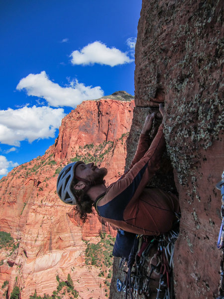 Rock Climbing Photo: Hanging out on Tucupit occidentalis