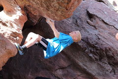Rock Climbing Photo: My son Andrew
