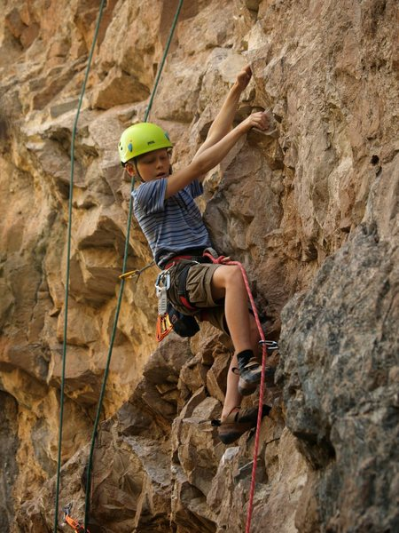 Rock Climbing Photo: Rifle