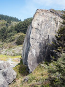 Rock Climbing Photo: The larger wall at Carruther's Cove has a lot of p...