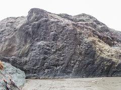 Rock Climbing Photo: Very fun knobby wall. Several variations from V0-V...