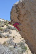 Rock Climbing Photo: Akiyo Noguchi sending The Mandala