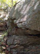 Rock Climbing Photo: Big jugs on Diamonds In The Rough