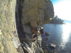 Rock Climbing Photo: Edgar Bullon on Contortionist