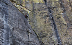 Rock Climbing Photo: Kash Dierksheide on Eine Kleine Nachtmusik. Photo ...