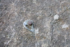 "Rock Climbing Photo: Steel Rawl 3/8"" x 2.5"