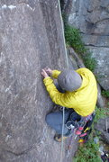 Rock Climbing Photo: Removing sleeve and cone, friggin crappy thread br...