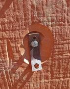Rock Climbing Photo: Some vintage hardware on Venus.
