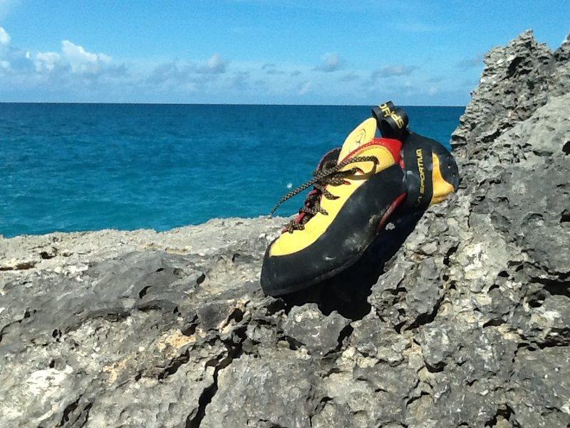 Rock Climbing Photo: La sportive in paradise...