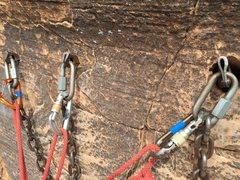 Rock Climbing Photo: Pitch 5 anchor.