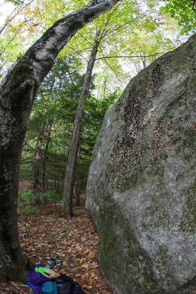 Rock Climbing Photo: A side view of 'Voodoo Child' (v9/10), gives you a...