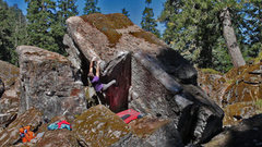 "Rock Climbing Photo: The proudest line on this boulder ""An Image T..."