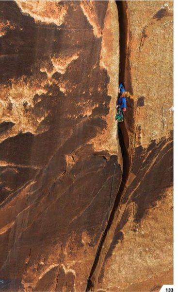 Rock Climbing Photo: Goliath Pitch 2 Photo: Jeremiah Watt