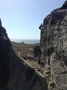 Rock Climbing Photo: the Pelican Arete