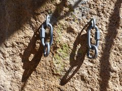"""Rock Climbing Photo: Newly replaced 1/2"""" Wave bolt glue-ins at the..."""