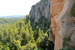 Rock Climbing Photo: Montserrat south side, ideal for winter time!