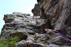 photo john took of me leading 5.5 breezy