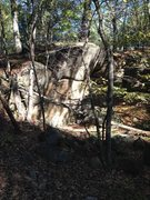 Rock Climbing Photo: Second cliff off Quarry Road.