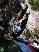 Rock Climbing Photo: Baker a couple moves in on Gilf