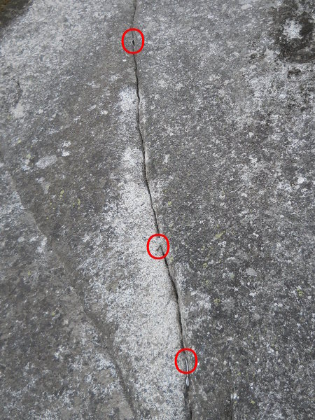 Rock Climbing Photo: broken circuit, wtf?