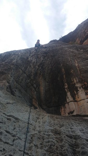 Rock Climbing Photo: Me on this awesome climb!
