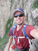 Rock Climbing Photo: Selfie (before they were cool) on Seventh Sojourn ...