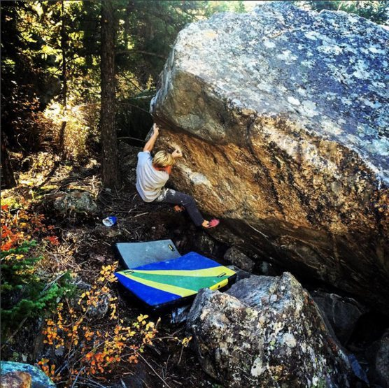 Rock Climbing Photo: Camp on the Paper Doll.