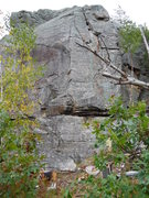 Rock Climbing Photo: Route in it's full glory; from the Beags dog strai...
