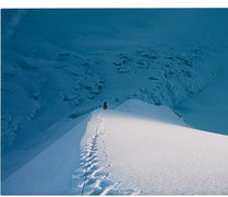 Rock Climbing Photo: The lower section of the North Ridge of Icing Peak...