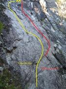 Rock Climbing Photo: Finger My Slot Slab