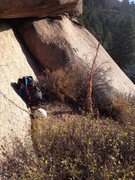 Rock Climbing Photo: Top of Above the .11