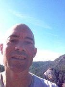 Rock Climbing Photo: Selfie above Tim's