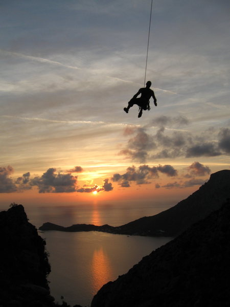 Rock Climbing Photo: kalymnos king swing