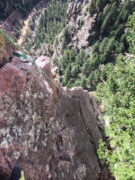 A terrific climb all-around, but I should mention the fin near the end, Rebuffat's Arete, is so worth doing!