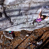 Lanman 5.11a / Artificial Intelligence Wall / Bonitcou / Climber: N. Falacci / There is NO ACCESS to this climb anymore.