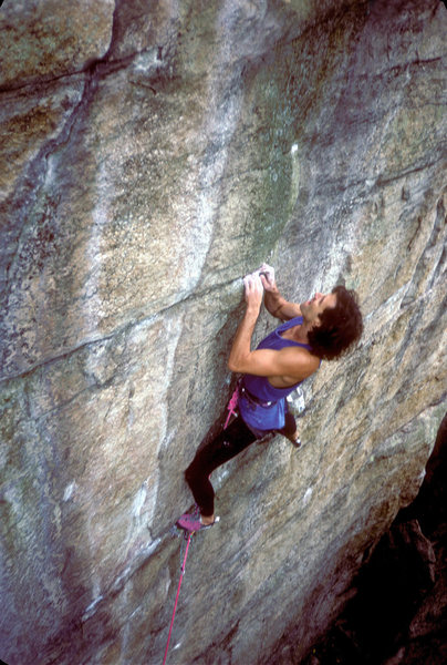 Brave New World 5.12 / Lost City / Gunks / Climber: John Blumenthal