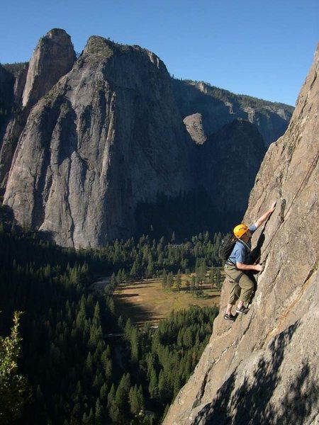 Rock Climbing Photo: East Buttress - El Cap 5.10 / Yosemite / Climber: ...