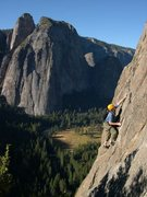 Rock Climbing Photo: East Buttress - El Cap 5.10 / Yosemite / Climber: ...