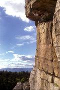 Rock Climbing Photo: Foops 5.11 / Skytop / Gunks / Climber: N. Falacci