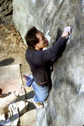 Rock Climbing Photo: Private Angel V7 / Cat Rock / Climber: Komba