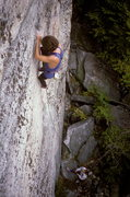 Rock Climbing Photo: Resistance 5.10 / Lost City / Gunks / Climber: Joh...