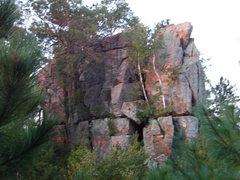 Rock Climbing Photo: Crag in the morning light.
