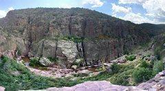 Rock Climbing Photo: Optomistic Future via Southern Comfort