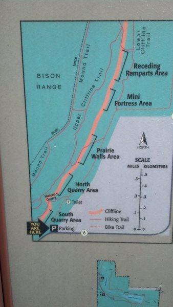 Rock Climbing Photo: map1
